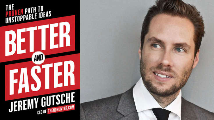 First Look: Work Smarter with Jeremy Gutsche's New Book, <em>Better and Faster</em>